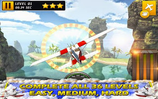 Screenshots of the Air trial frontier real racing for Android tablet, phone.