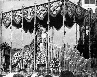 La Carretería Palio, manto y sobrefaldones  Josefa y Ana Antúnez Juan Manuel Rodríguez Ojeda Jesús Despojado