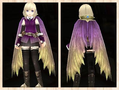 蛮竜のマント・紫1