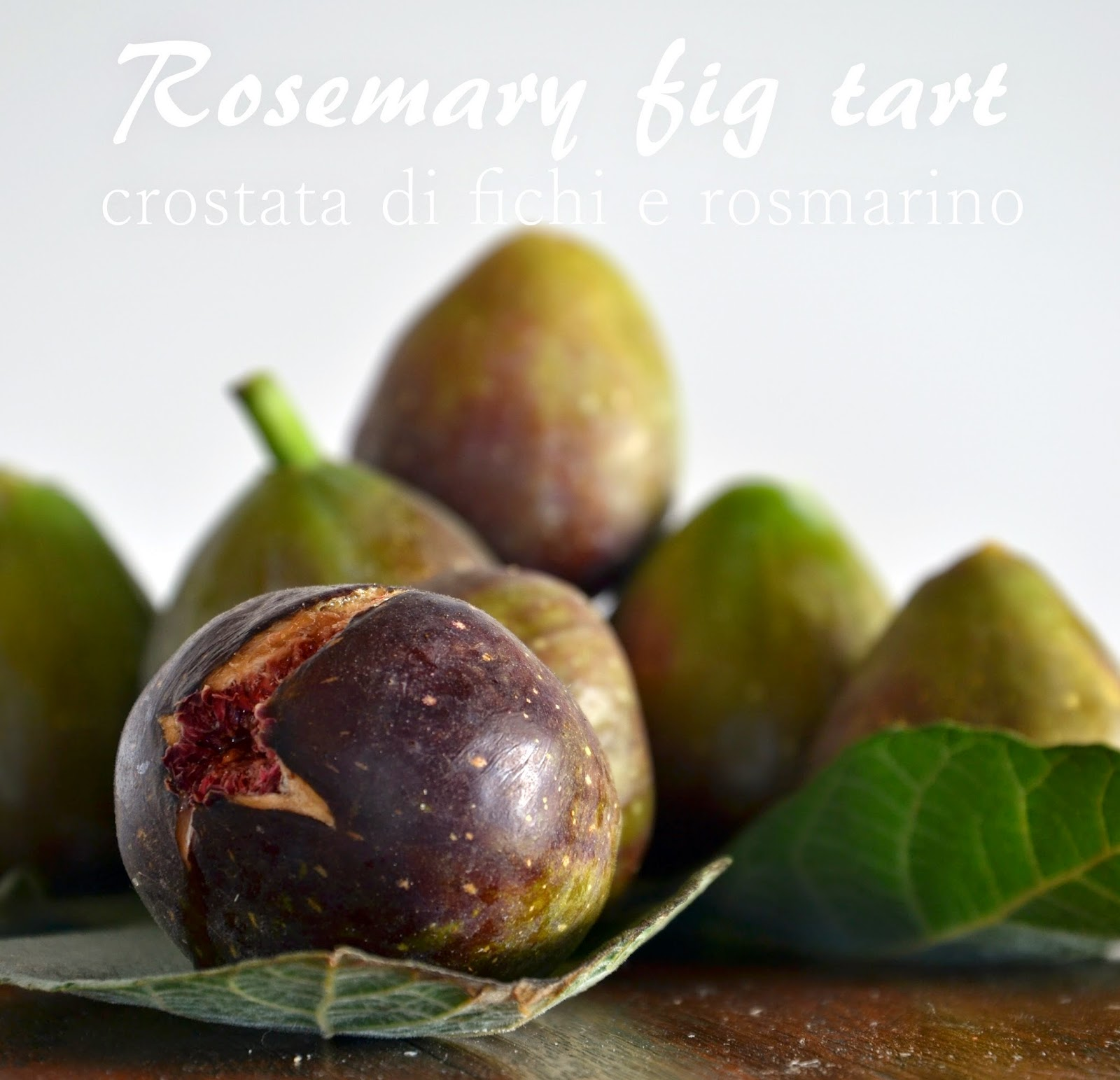 crostata di fichi e rosmarino - rosemary fig tart