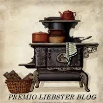 Premio Liesbter blog cocina