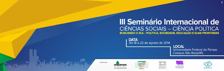 III Seminário Internacional BUSCANDO O SUL 2014