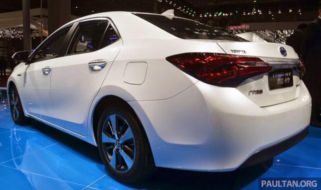 Toyota lahirkan New Toyota Levin HEV Terbaru
