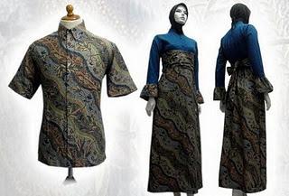 baju batik muslim 2013