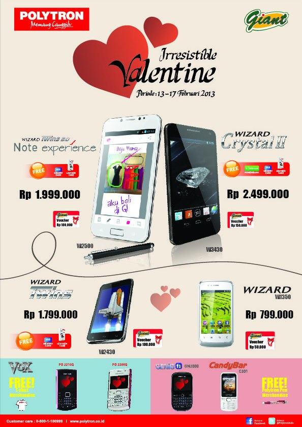 Promo Valentine Ponsel Polytron