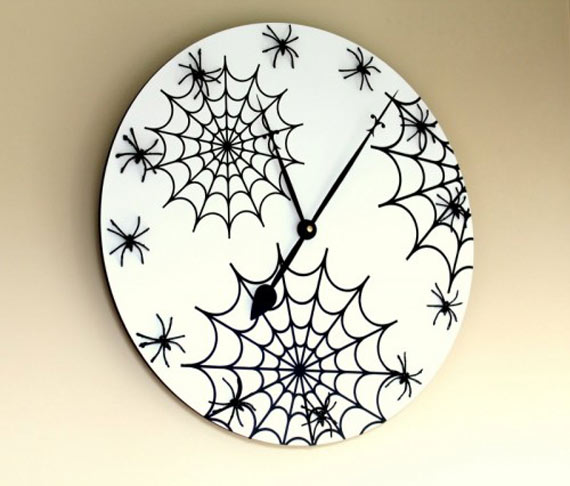 Fashion and art trend unique creative and stylish wall - Homemade wall clock designs ...