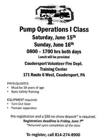 6-7 Pump Operations I Class