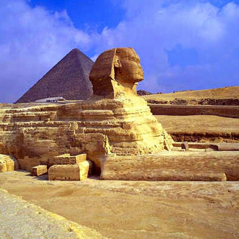 Esfinge de Gizé, Egito