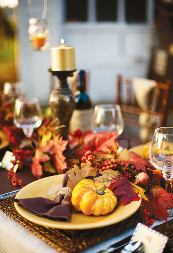 Rivernorthlove rustic thanksgiving dinner How to set a thanksgiving dinner table