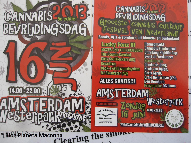 Marcha da Maconha Amsterdam 2013