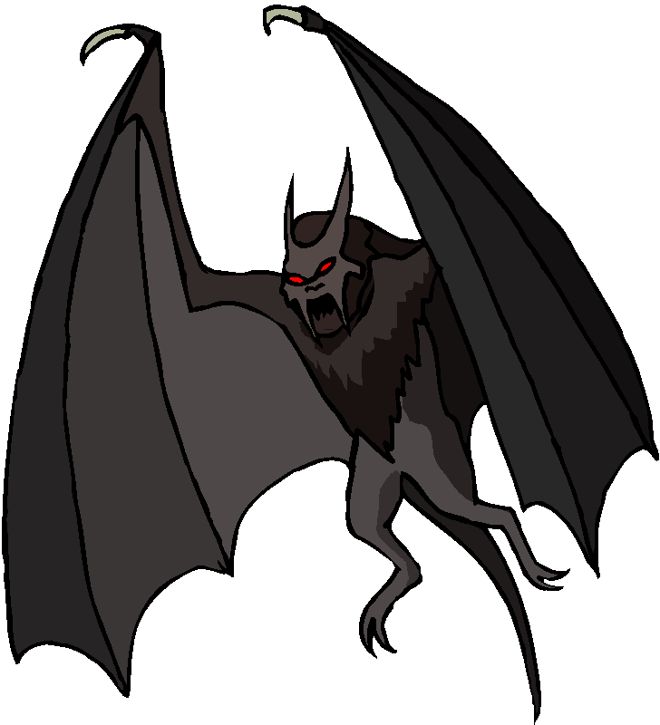 Bat Monster Free Clipart