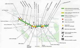promenade plantee map