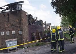Masjid dibakar di britain