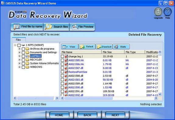 Recovery data dengan Easus Data Recovery