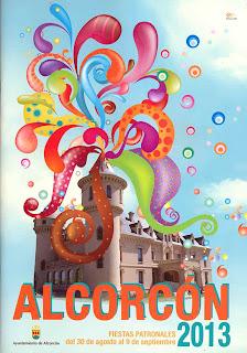 Cartel Fiestas Alcorcon 2013
