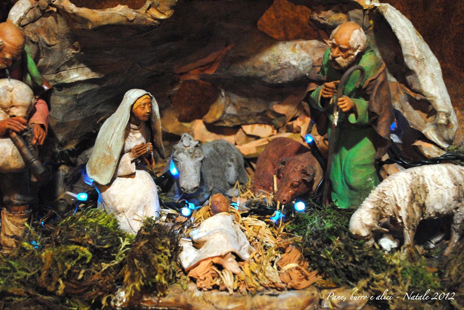 Top Pane, burro e alici: Natale 2012: Presepe Napoletano e Pepatelli  BW26