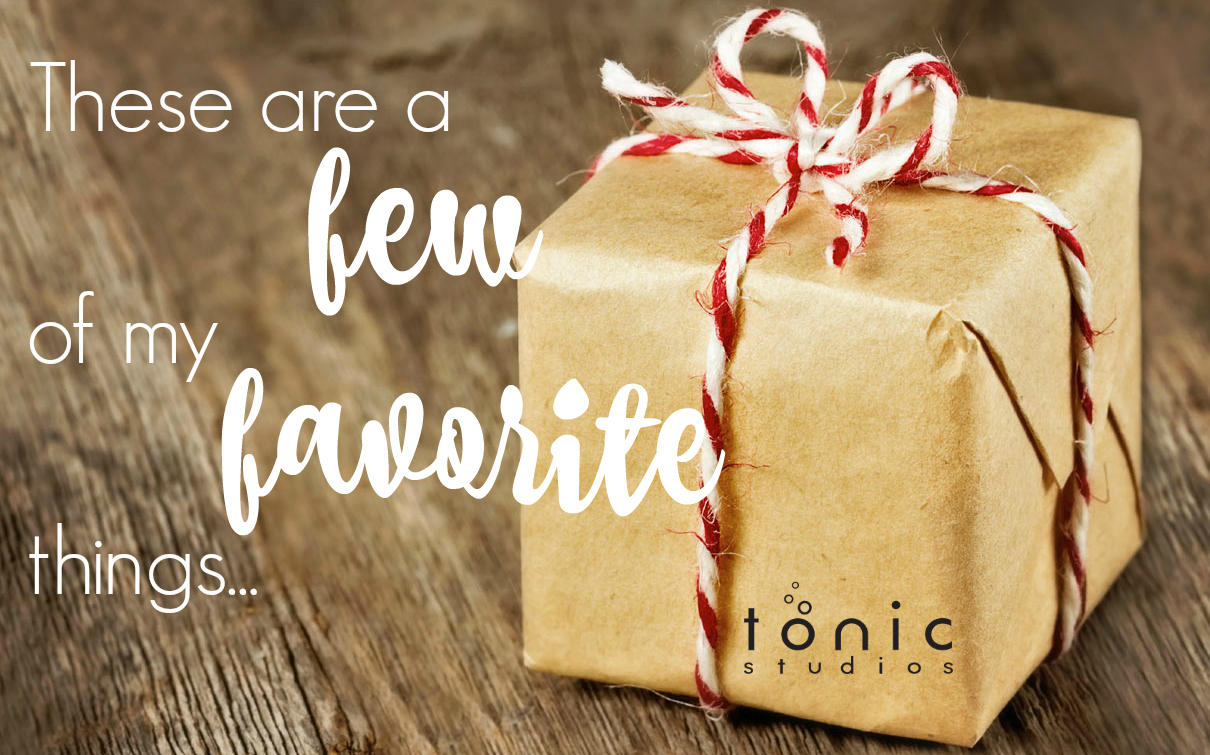Tonic Studios Favorite Things Giveaway!
