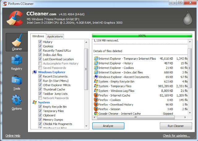Ccleaner 4.00.4064