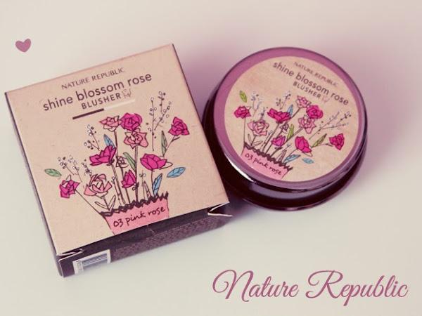 Yurtdışından Makyaj Alışverişi   KollectionK Nature Republic Shine Blossom Rose Allık