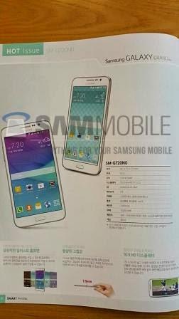 Data spesifikasi Samsung Galaxy A7 dan Galaxy Grand Max bocor