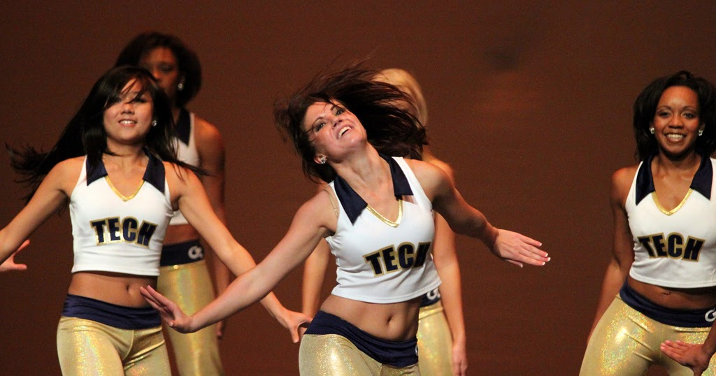 Georgia tech college cheerleaders