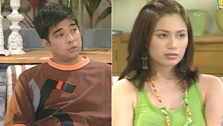 The late Master Rapper, Francis Magalona and Francine Prieto.