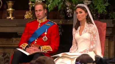 The weds, new couple, William - Catherine. YouTube 2011.