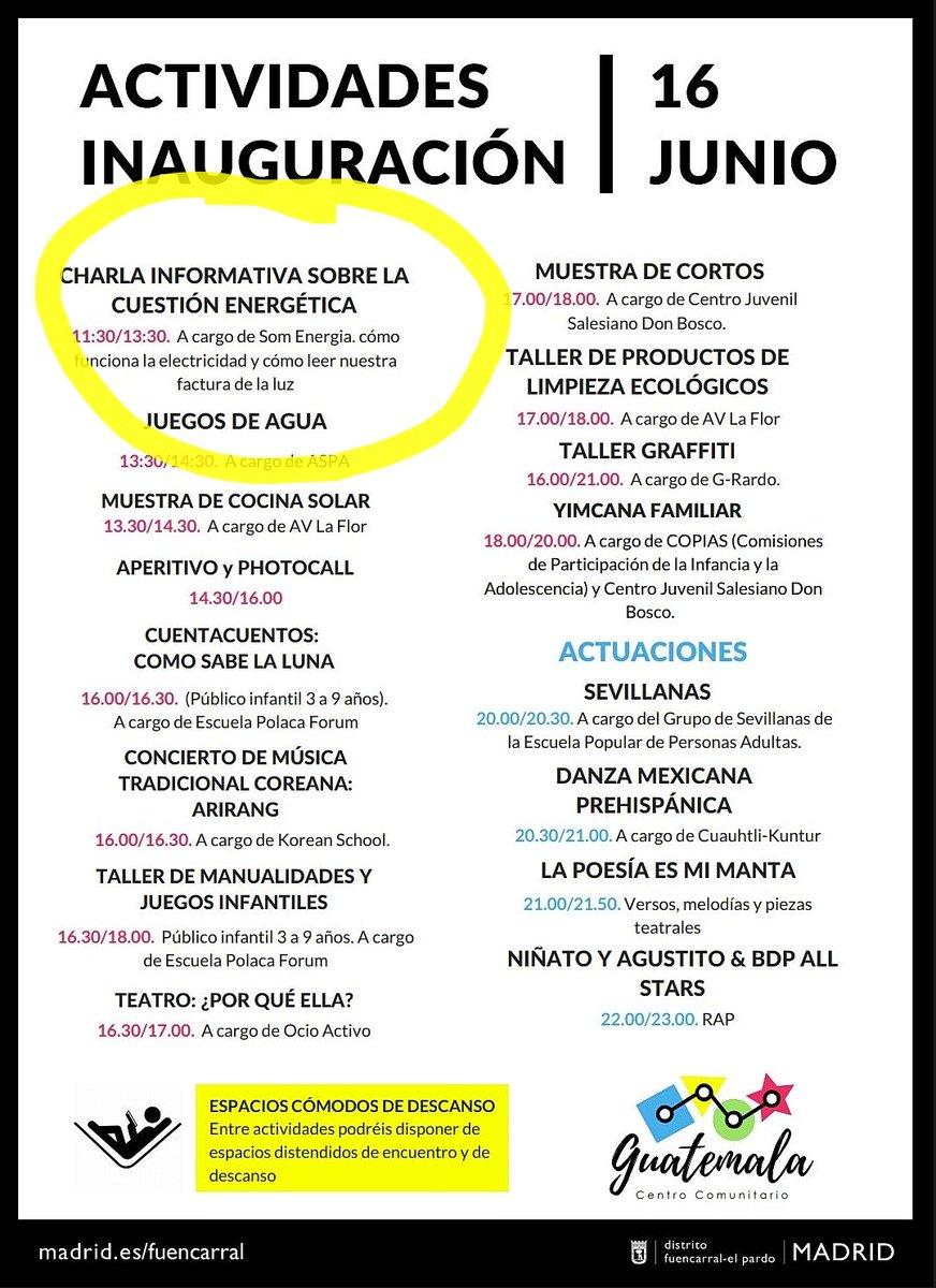 16 junio Inauguración C Comunitario Guatemala