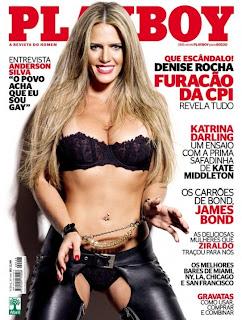 Playboy Setembro 2012 - Furacão da CPI
