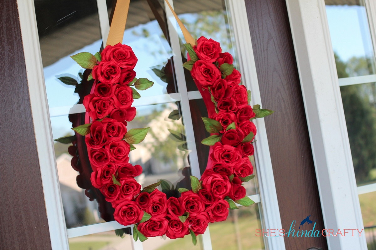 Run For The Roses Derby Wreath Shes Crafty