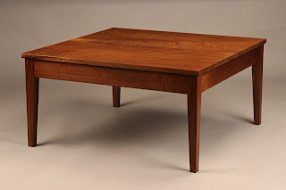 Coffee Table for sale solid wood handmade in america handcrafted walnut