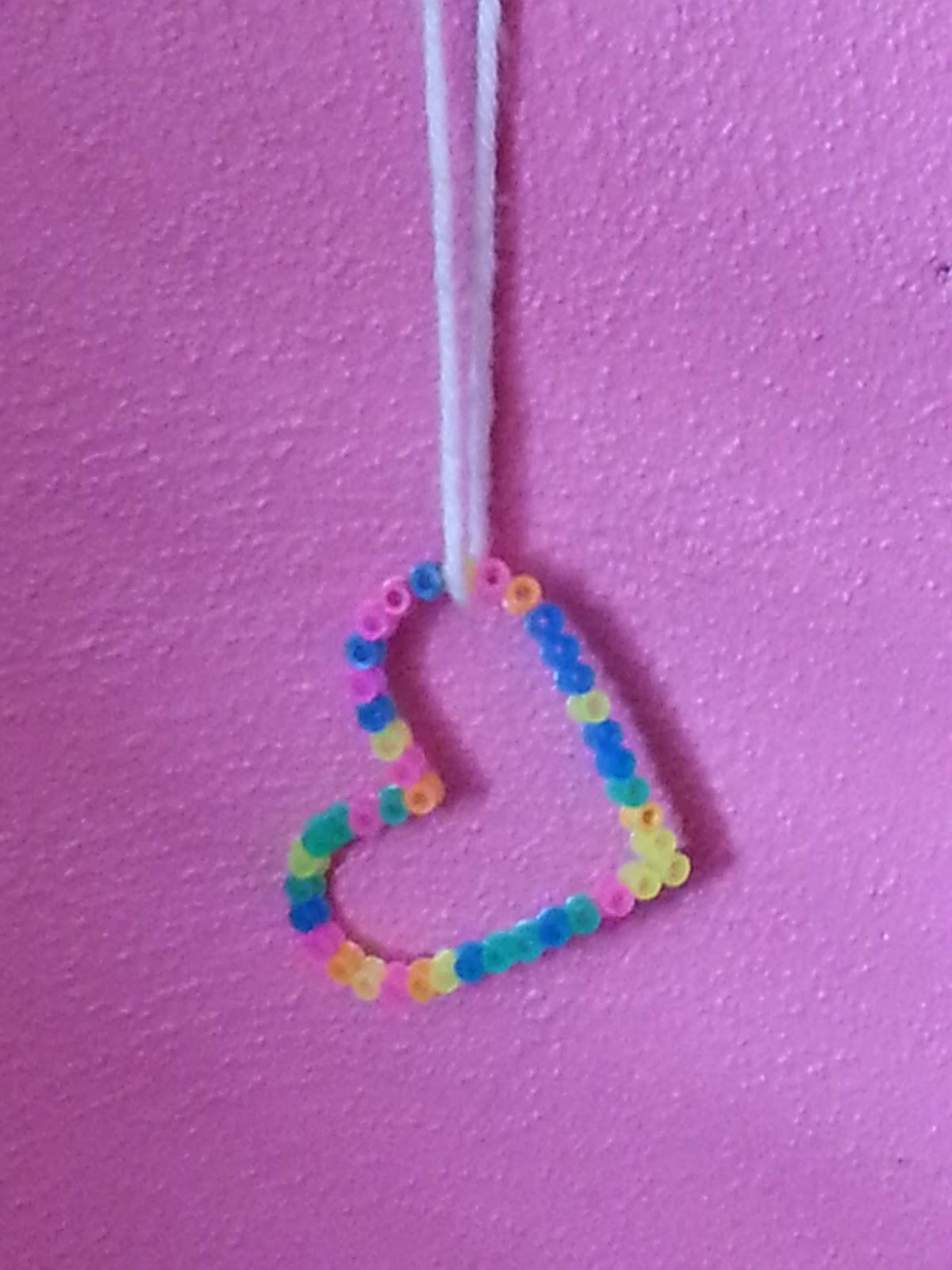 crafts for kiddos perler necklace
