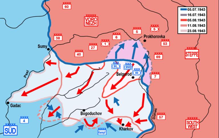 Segunda Guerra Mundial, Kursk, Libros bélicos