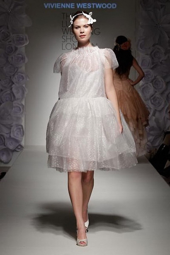 Vivienne Westwood Fall Winter 2012 Wedding Dresses