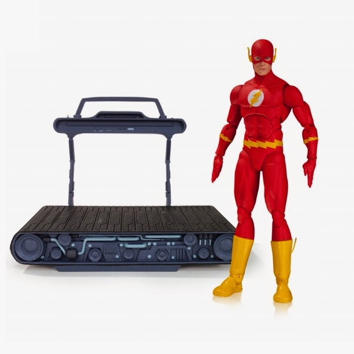DC Comics Icons Wave 1 Action Figures - COIE The Flash Barry Allen with the Cosmic Treadmill