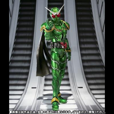 Bandai SIC Kamen Rider W Cyclone Figure (exclusive)