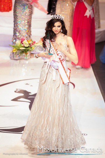 Crowned Miss Universe Canada 2013 Denise Garrido
