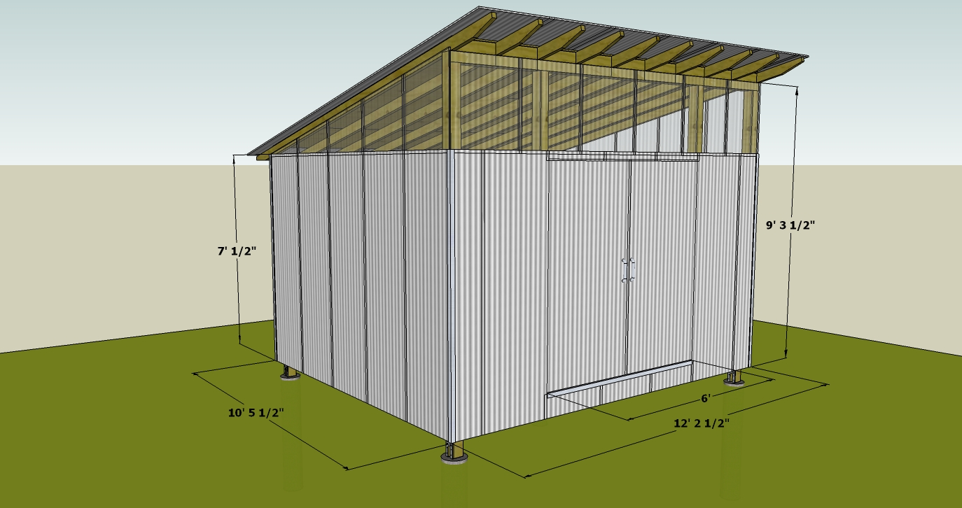 Ecclesia domestica design for a storage shed for Building a storage shed