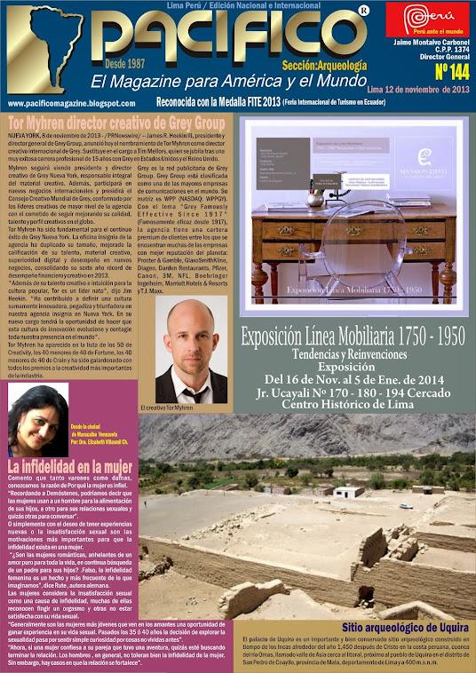 Revista Pacífico Nº 144 Arqueología