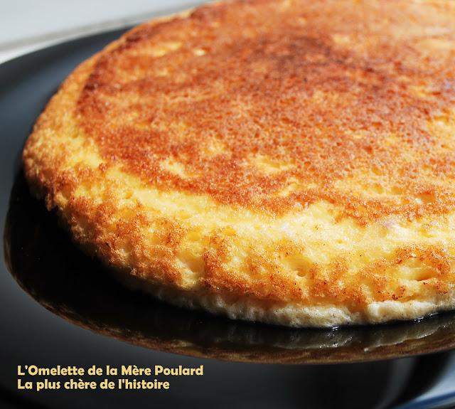 Natachacuisine le blog cuisine devorer des yeux elle est gonfl e cette omelette - Omelette de la mere poulard ...