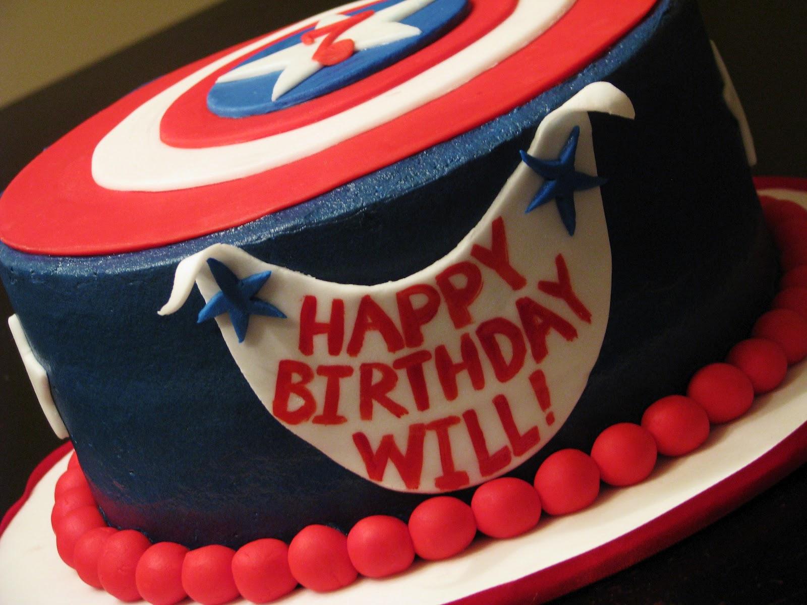 Bliss Cakes of London Captain America