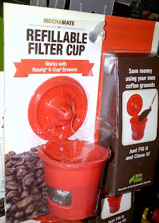 Plastic refillable filter cup