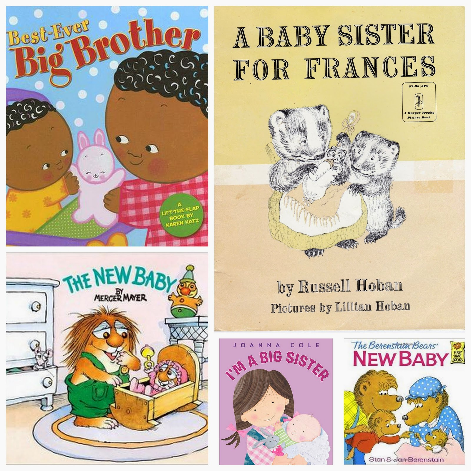 Books About Becoming an Older Sibling
