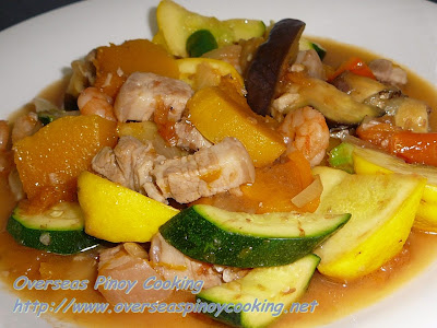 Pinakbet, Overseas Pinoy Version
