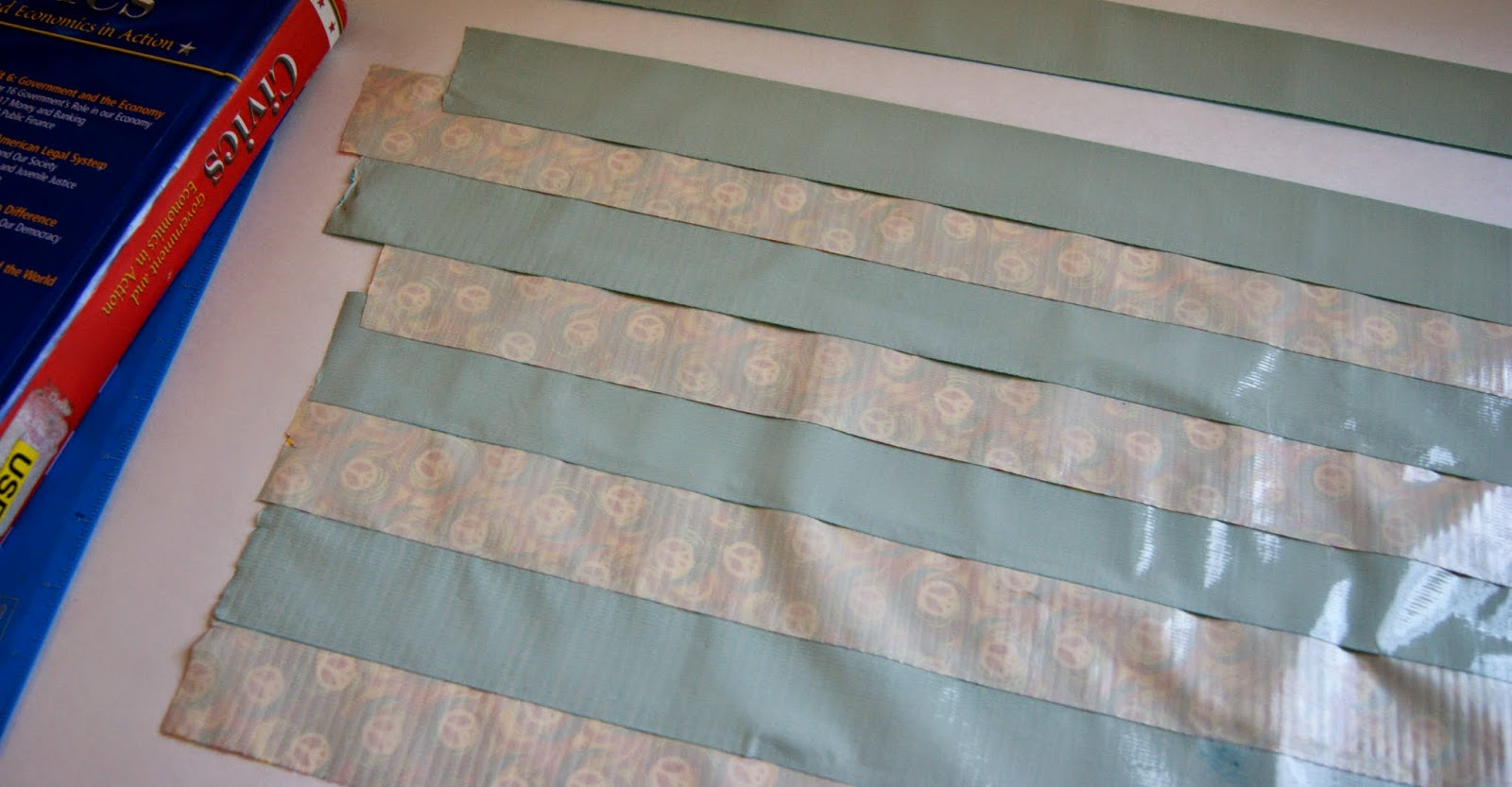 How To Make A Book Cover Without Tape ~ Michelle paige s book covers with duck tape and washi