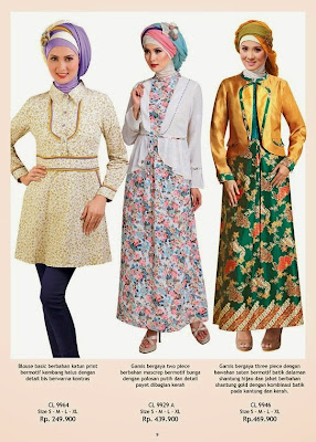 Koleksi busana muslim mangga dua terbaru untuk lebaran 2015