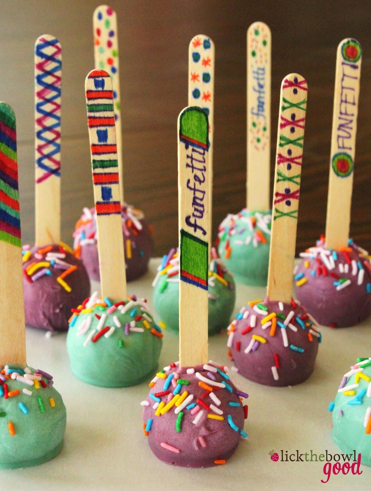 Easy Birthday Cake Pop Ideas Topsimages