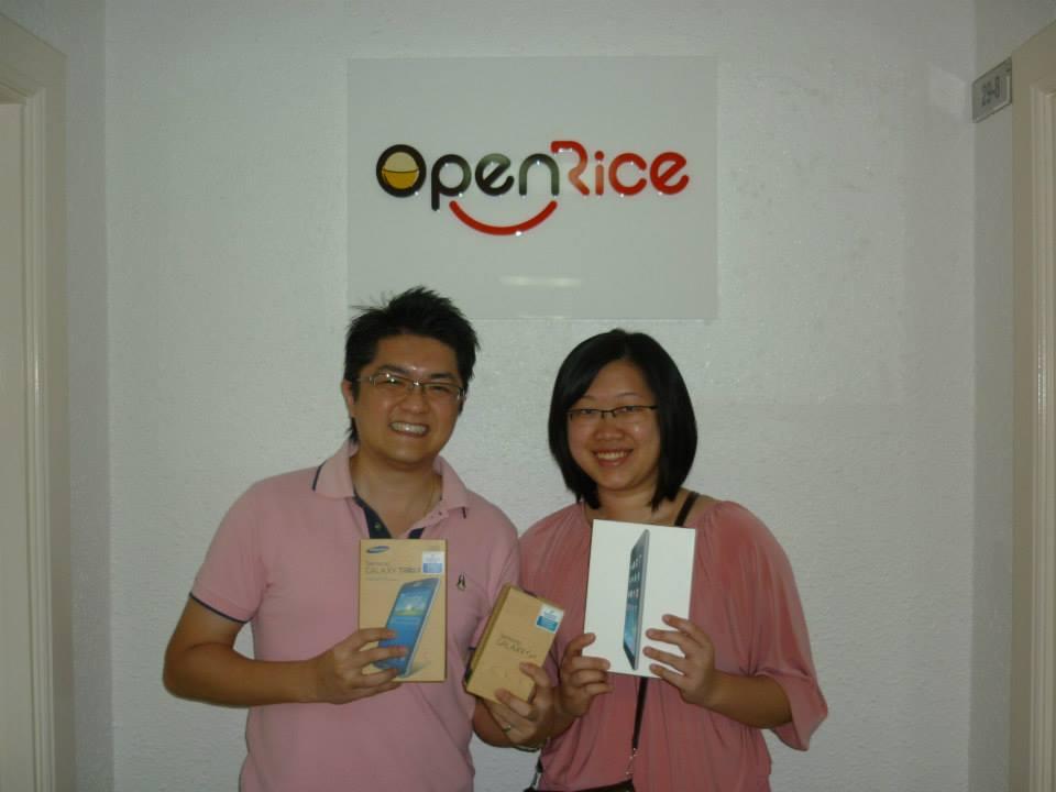 OpenRice Contest