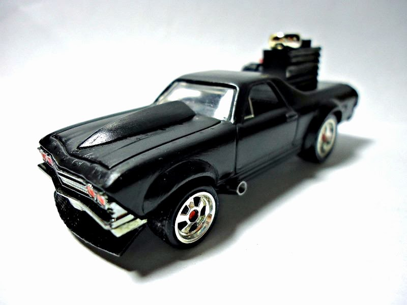 Hot Wheels Muscle Cars Customs: 1967 Chevy Camaro Drag Custom - El ...
