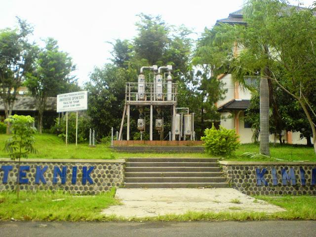 Kampus Teknik Kimia UNDIP tahun 2009